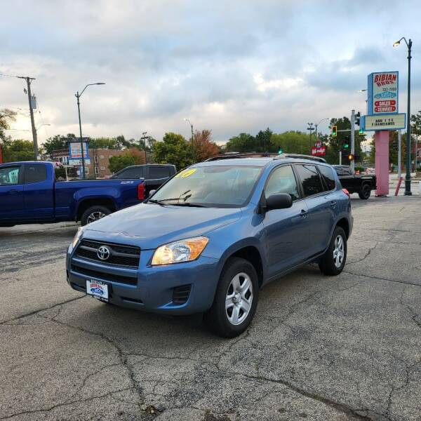 2010 Toyota RAV4 for sale at Bibian Brothers Auto Sales & Service in Joliet IL