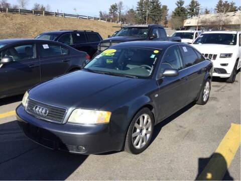 2004 Audi A6 for sale at Kansas Car Finder in Valley Falls KS