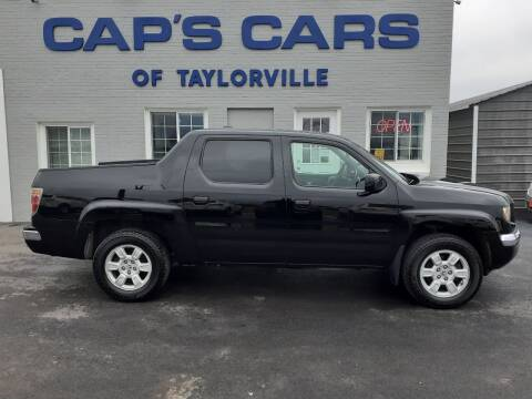 2007 Honda Ridgeline for sale at Caps Cars Of Taylorville in Taylorville IL