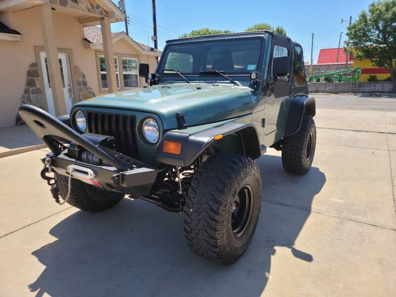 1999 Jeep Wrangler for sale at Texas Premiere Autos in Amarillo TX