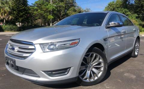 2013 Ford Taurus for sale at LUXURY AUTO MALL in Tampa FL