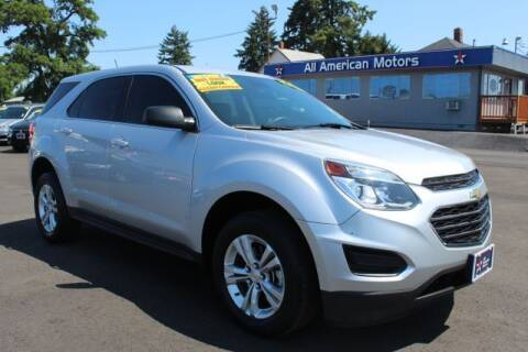 2017 Chevrolet Equinox for sale at All American Motors in Tacoma WA