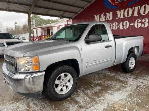 2012 Chevrolet Silverado 1500 for sale at M & M Motors in Angleton TX
