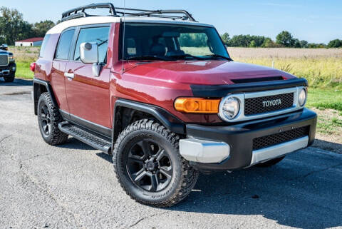 2008 Toyota FJ Cruiser for sale at Fruendly Auto Source in Moscow Mills MO