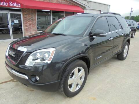 2007 GMC Acadia for sale at US PAWN AND LOAN in Austin AR