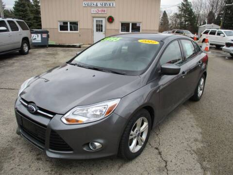 2012 Ford Focus for sale at Richfield Car Co in Hubertus WI