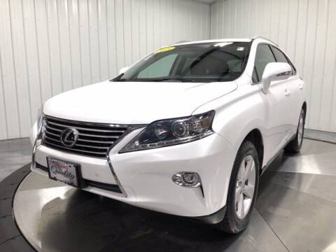 2015 Lexus RX 350 for sale at HILAND TOYOTA in Moline IL