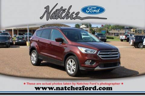 2018 Ford Escape for sale at Auto Group South - Natchez Ford Lincoln in Natchez MS