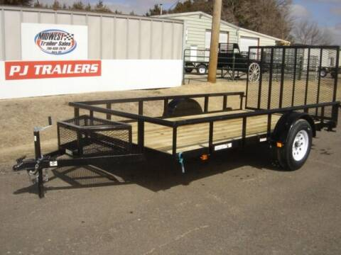 2021 CARRY ON 6 X 12 GWPTLED for sale at Midwest Trailer Sales & Service in Agra KS