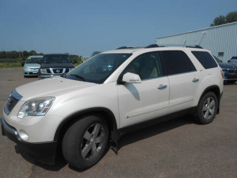 2010 GMC Acadia for sale at Salmon Automotive Inc. in Tracy MN