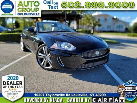 2011 Jaguar XK for sale at Auto Group of Louisville in Louisville KY