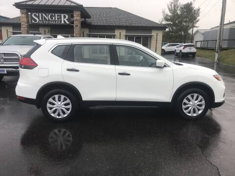 2017 Nissan Rogue for sale at Singer Auto Sales in Caldwell OH