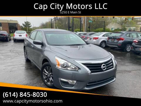 2015 Nissan Altima for sale at Cap City Motors LLC in Columbus OH