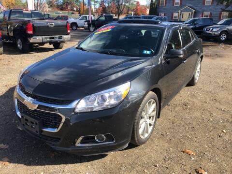 2014 Chevrolet Malibu for sale at Winner's Circle Auto Sales in Tilton NH