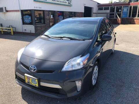 2013 Toyota Prius Plug-in Hybrid for sale at MR Auto Sales Inc. in Eastlake OH
