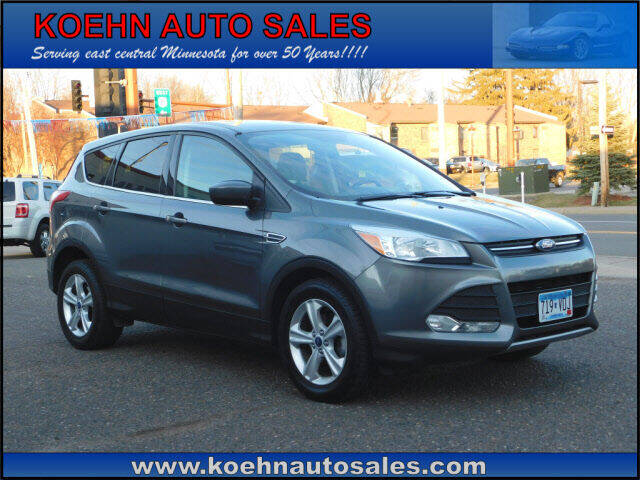 2014 Ford Escape for sale at Koehn Auto Sales in Lindstrom MN