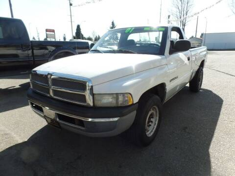 2001 Dodge Ram Pickup 2500 for sale at Gold Key Motors in Centralia WA