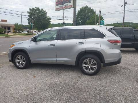 2015 Toyota Highlander for sale at VAUGHN'S USED CARS in Guin AL