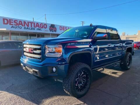 2015 GMC Sierra 1500 for sale at DESANTIAGO AUTO SALES in Yuma AZ