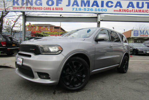 2019 Dodge Durango for sale at MIKEY AUTO INC in Hollis NY