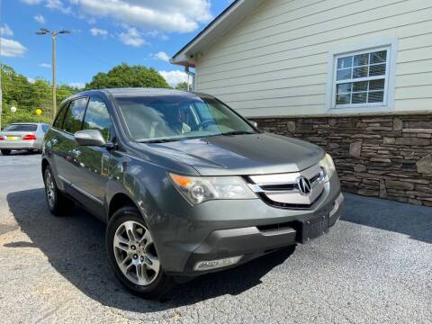 2007 Acura MDX for sale at No Full Coverage Auto Sales in Austell GA