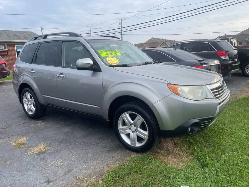 2009 Subaru Forester for sale at C&C Affordable Auto and Truck Sales in Tipp City OH