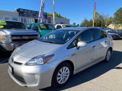2014 Toyota Prius Plug-in Hybrid for sale at Black Diamond Auto Sales Inc. in Rancho Cordova CA