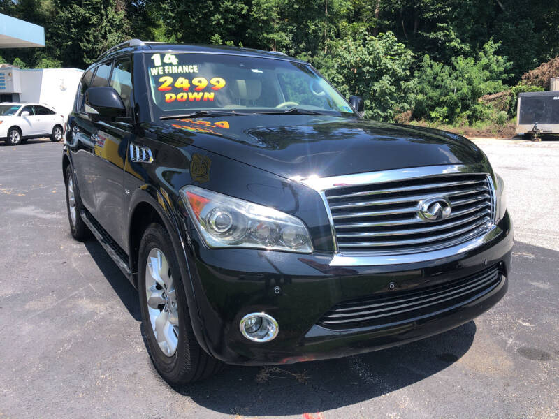 2014 Infiniti QX80 for sale at Highline Motors in Aston PA