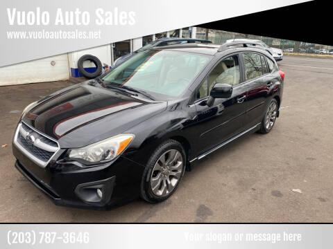 2013 Subaru Impreza for sale at Vuolo Auto Sales in North Haven CT