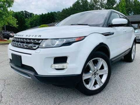 2013 Land Rover Range Rover Evoque for sale at Classic Luxury Motors in Buford GA