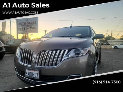 2012 Lincoln MKX for sale at A1 Auto Sales in Sacramento CA