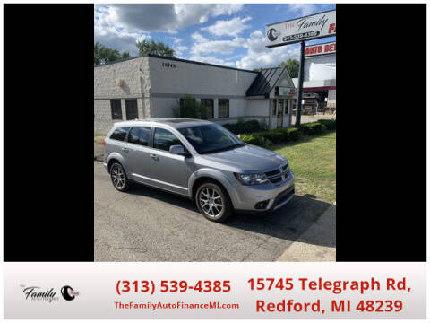 2018 Dodge Journey for sale at The Family Auto Finance in Redford MI