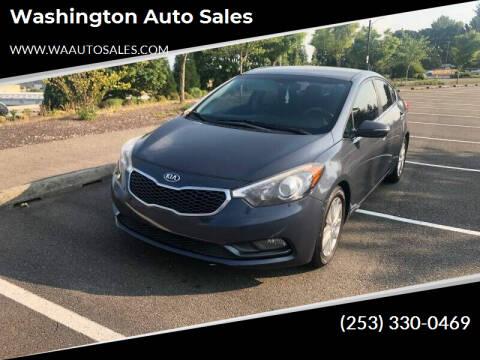 2015 Kia Forte for sale at Washington Auto Sales in Tacoma WA