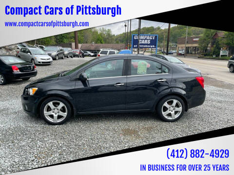2013 Chevrolet Sonic for sale at Compact Cars of Pittsburgh in Pittsburgh PA