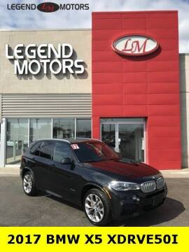 2017 BMW X5 for sale at Legend Motors of Ferndale in Ferndale MI