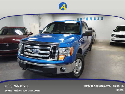 2012 Ford F-150 for sale at Automaxx in Tampa FL
