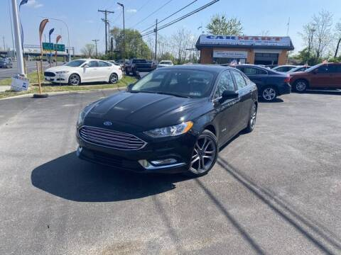 2017 Ford Fusion Hybrid for sale at CARMART Of New Castle in New Castle DE