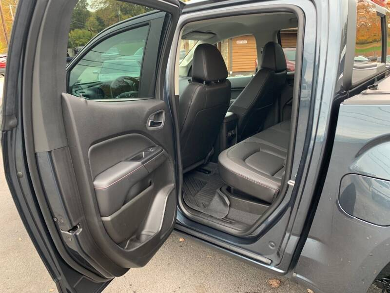 2019 GMC Canyon 4x4 All Terrain 4dr Crew Cab 5 ft. SB (Leather-Trimmed) - Uniontown PA