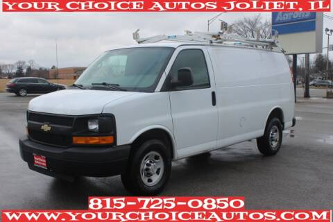 2012 Chevrolet Express Cargo for sale at Your Choice Autos - Joliet in Joliet IL