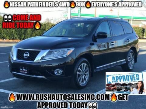 2014 Nissan Pathfinder for sale at RUSH AUTO SALES in Burlington NC