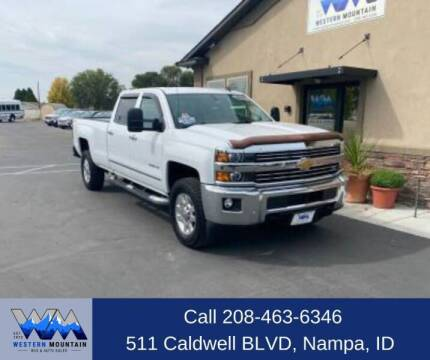 2015 Chevrolet Silverado 3500HD for sale at Western Mountain Bus & Auto Sales in Nampa ID