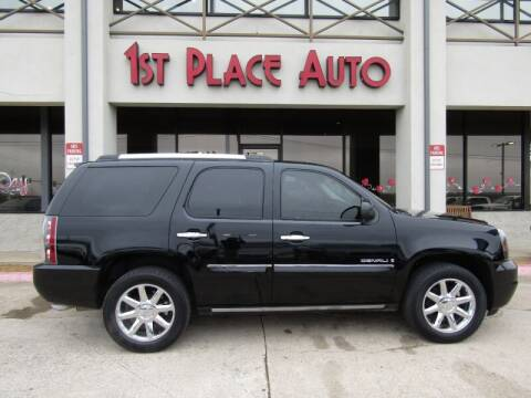 2008 GMC Yukon for sale at First Place Auto Ctr Inc in Watauga TX