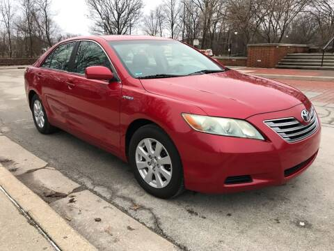 2008 Toyota Camry Hybrid for sale at Third Avenue Motors Inc. in Carmel IN
