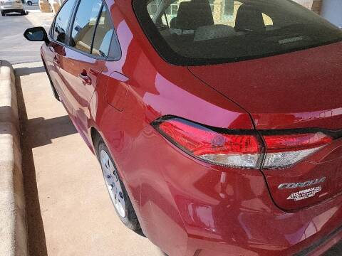 2021 Toyota Corolla for sale at STANLEY FORD ANDREWS in Andrews TX