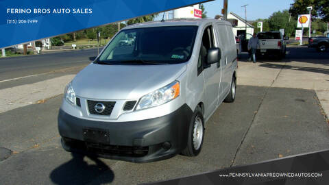 2017 Nissan NV200 for sale at FERINO BROS AUTO SALES in Wrightstown PA