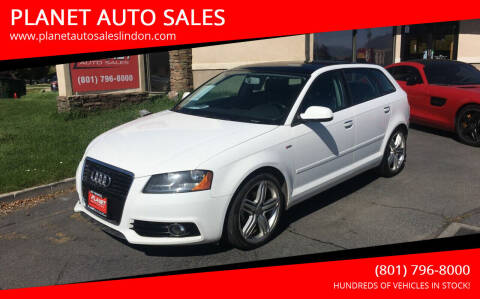2011 Audi A3 for sale at PLANET AUTO SALES in Lindon UT