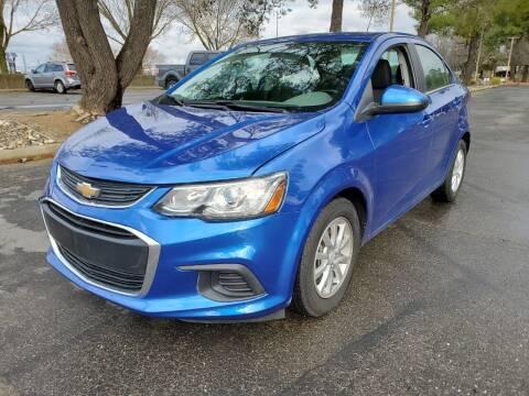 2017 Chevrolet Sonic for sale at Matador Motors in Sacramento CA