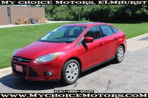 2012 Ford Focus for sale at My Choice Motors Elmhurst in Elmhurst IL