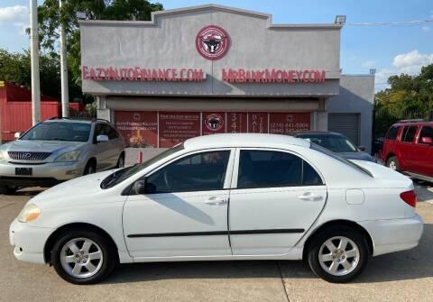 2007 Toyota Corolla for sale at Eazy Auto Finance in Dallas TX