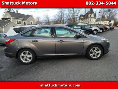 2014 Ford Focus for sale at Shattuck Motors in Newport VT